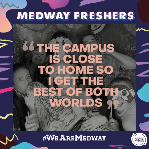 Meet Your Student Union at Medway!