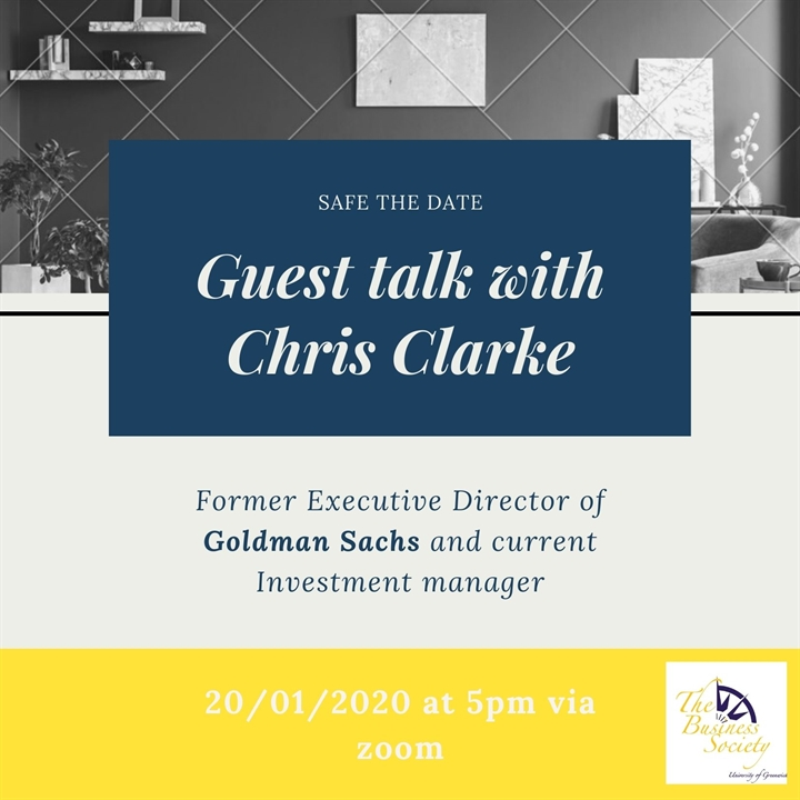 Guest talk with Chris Clarke