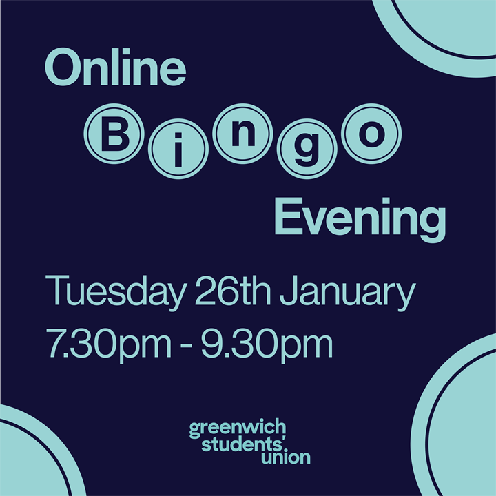 Online Bingo Evening hosted by Dance