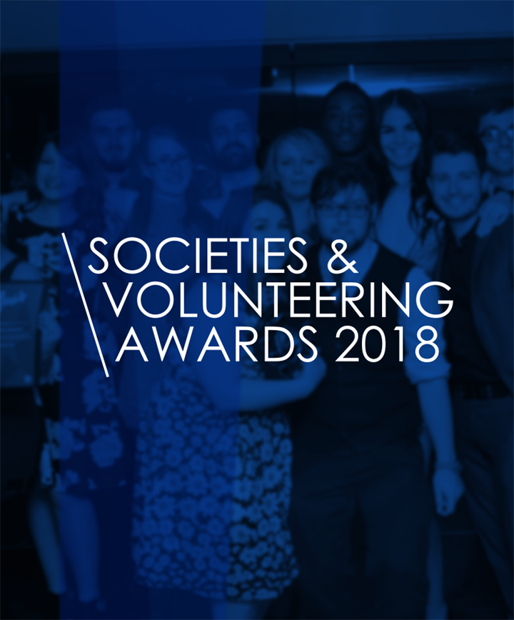 Societies & Volunteering Awards 2018