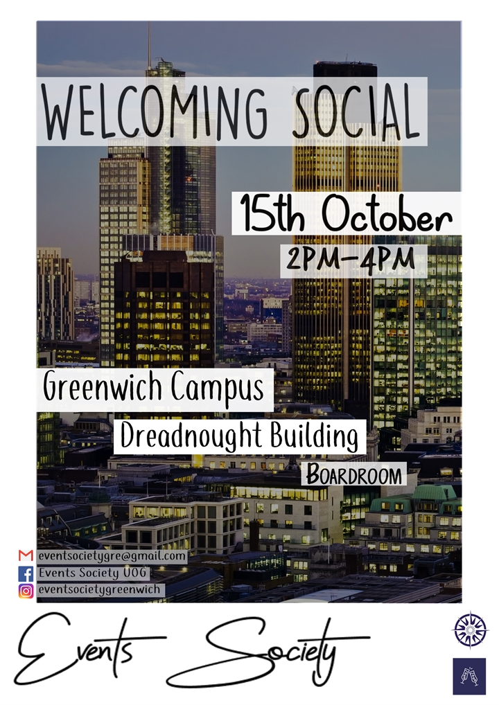 Events Society Welcoming Social