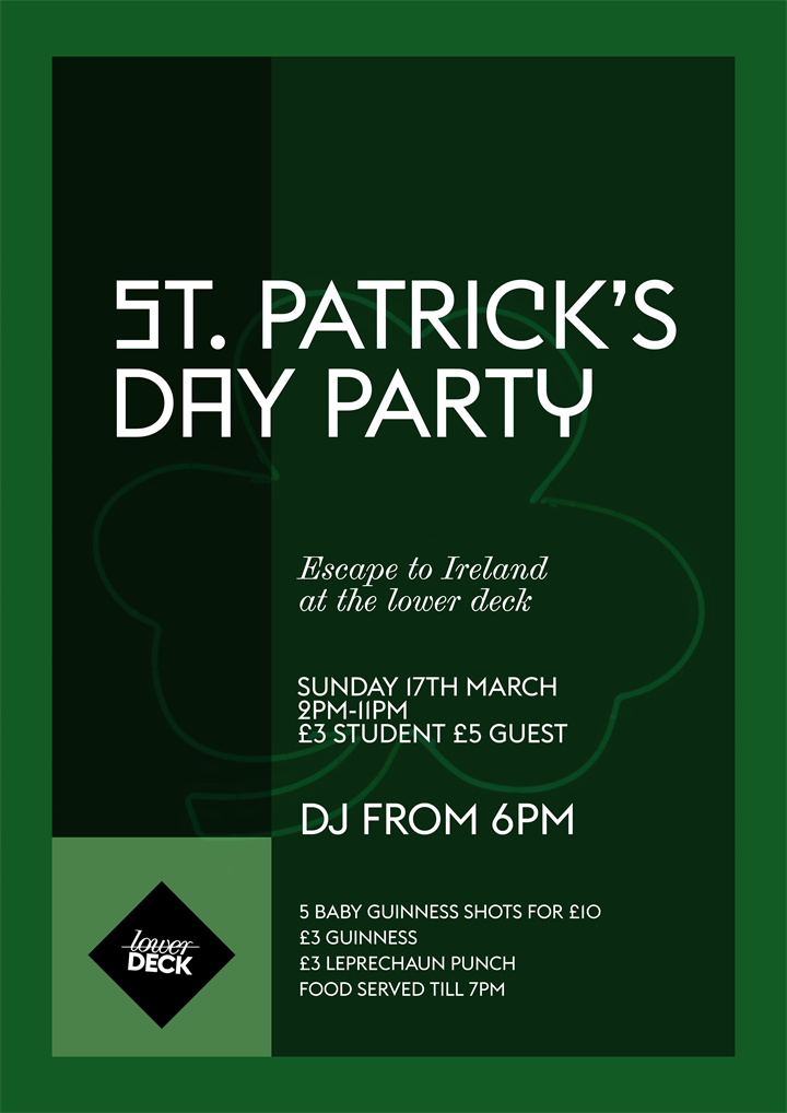 St. Patrick's Day Party!