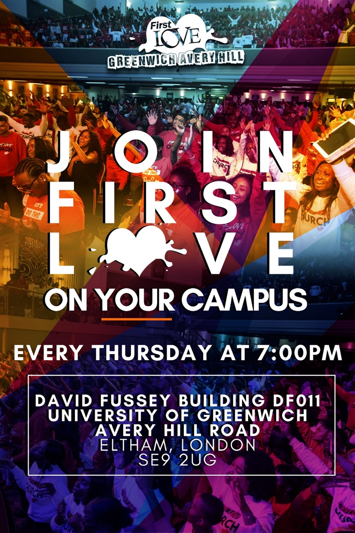 First Love Greenwich Avery Hill Centre Service