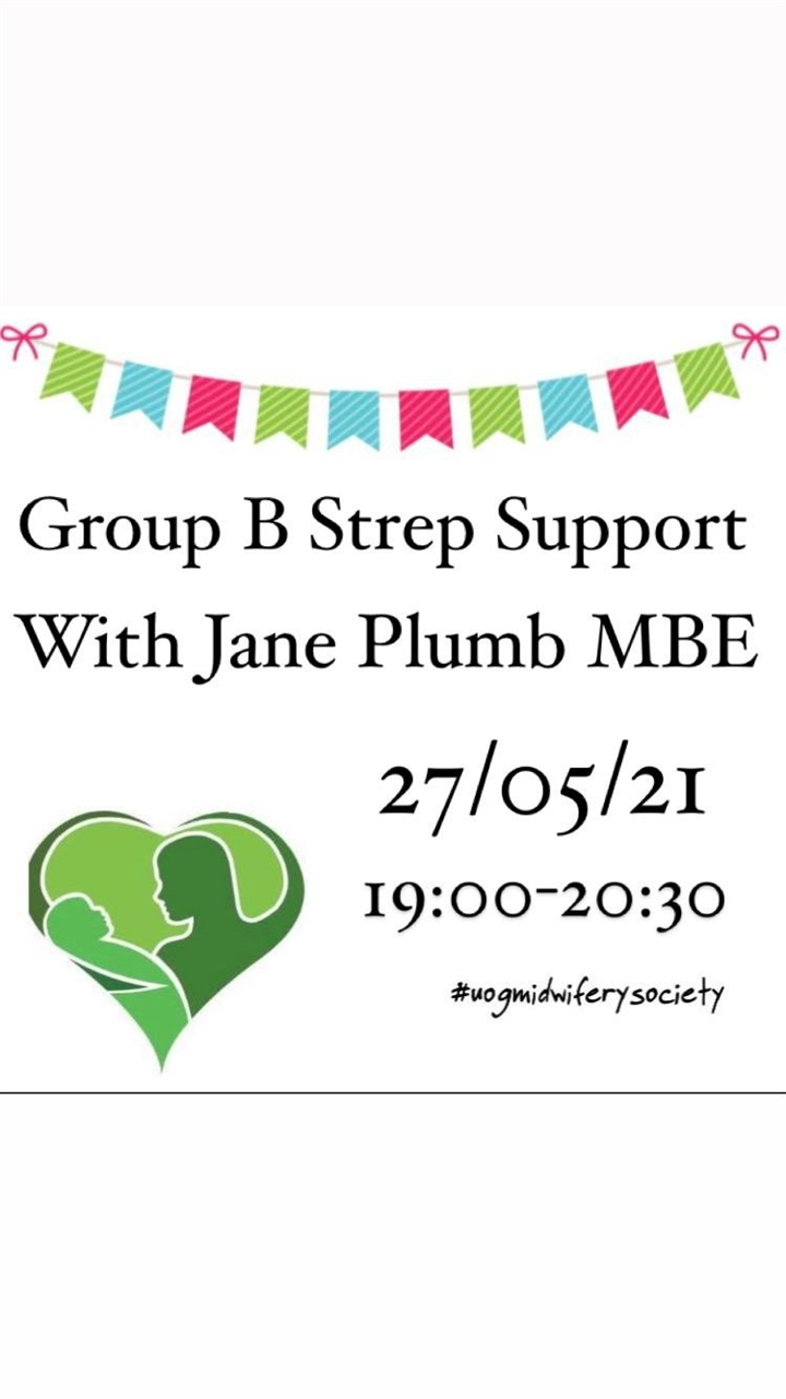 Group B Strep Support - with Jane Plumb MBE
