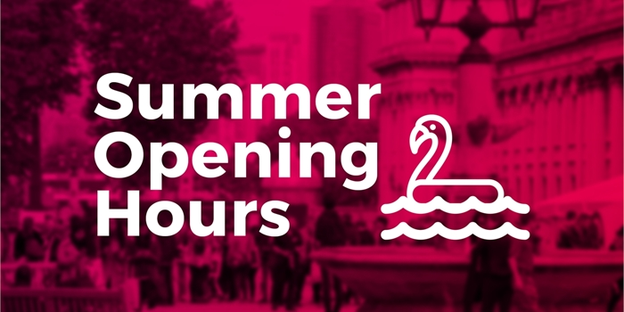 https://www.greenwichsu.co.uk/news/article/6002/Opening-hours-for-summer/