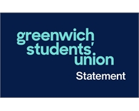 Greenwich Students' Union statement