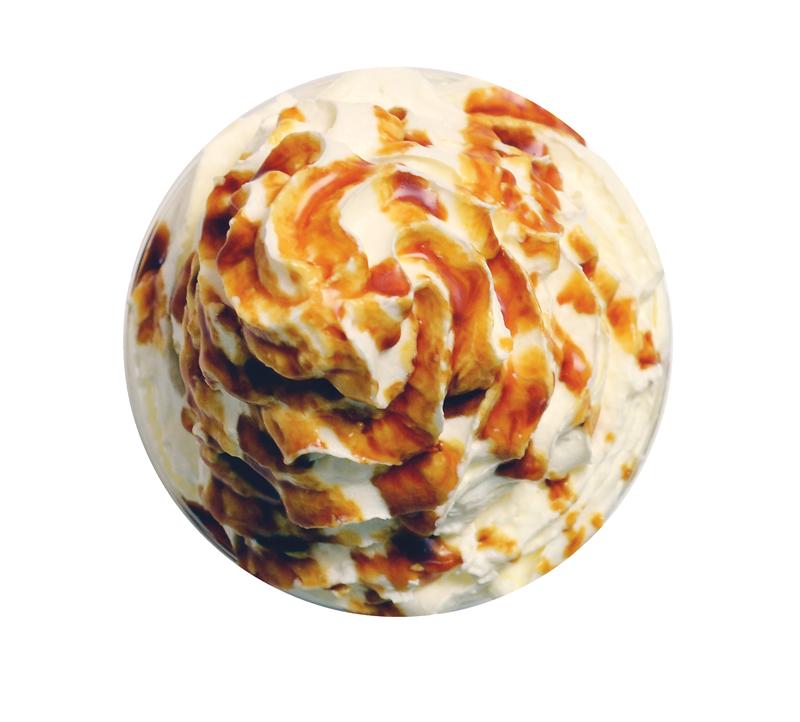 salted caramel frappe
